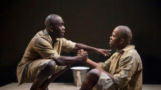 Jimmy Akingbola and Daniel Poyser in The IslandRichard Hubert Smith