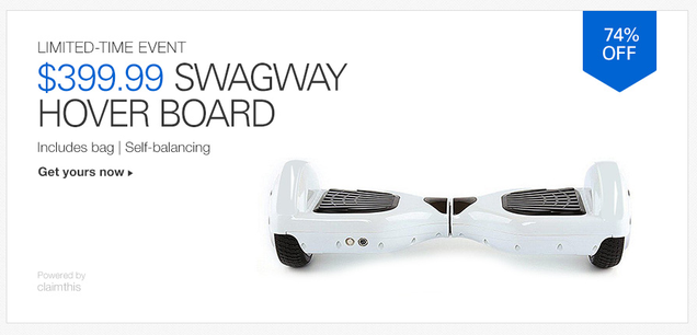 If You're Going to Call This a Hoverboard At Least Have The Decency to Make It One Word
