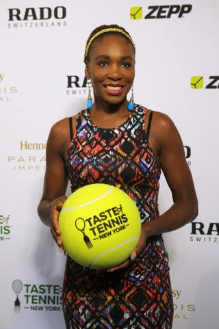 Venus Williams attends the Taste of Tennis Gala in New York Aug. 27, 2015.Brad Barket/Getty Images