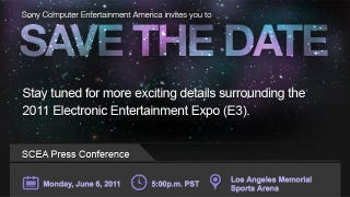 Illustration for article titled The PlayStation Portion Of E3 Starts... Here?