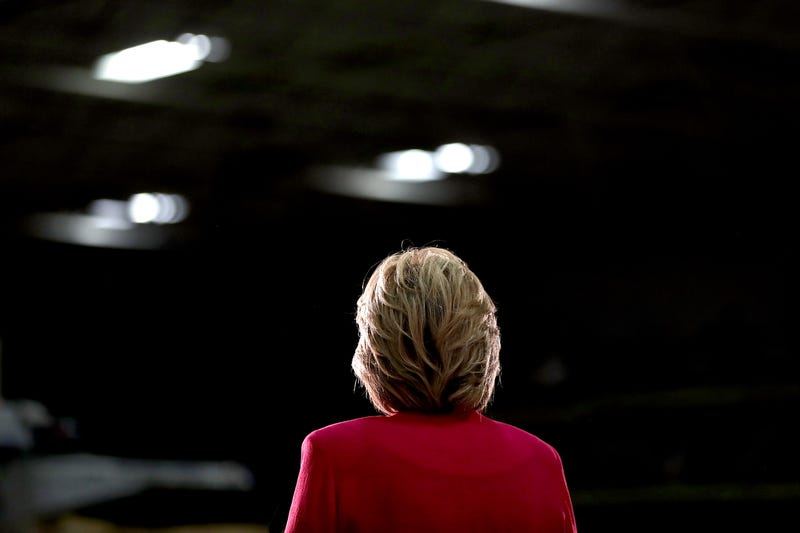 Democratic presidential nominee Hillary Clinton speaks during a campaign rally at K'Nex, a toy company, on July 29, 2016, in Hatfield, Pa.Justin Sullivan/Getty Images