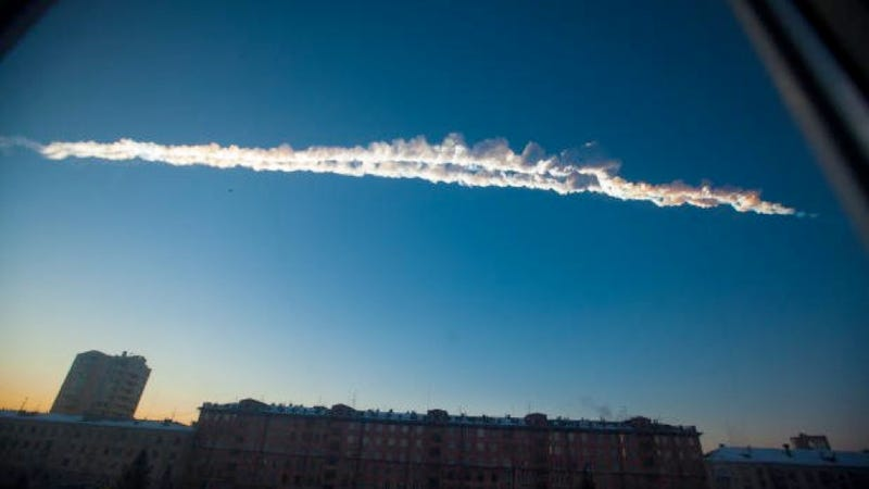 """Illustration for article titled Russia's Meteorite Explosion Was """"Heard"""" Half-Way Around the World"""