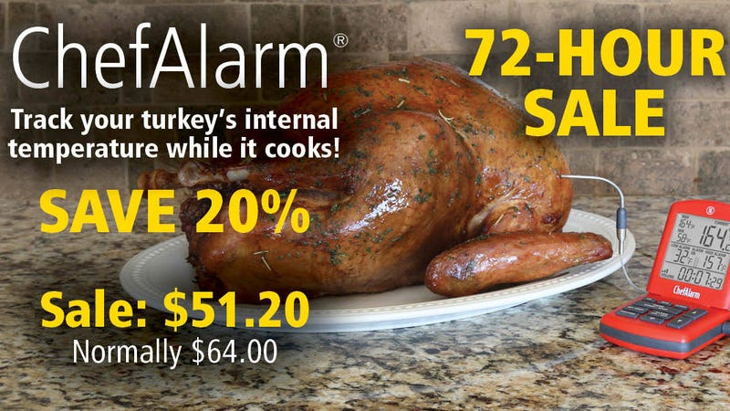 ChefAlarm   $51 at checkout   ThermoWorks