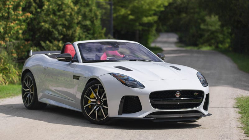 What Do You Want To Know About The 2020 Jaguar F-Type SVR Convertible?