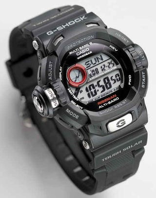 Illustration for article titled G-Shock GW-9200 Riseman Has Everything You Never Needed on a Watch