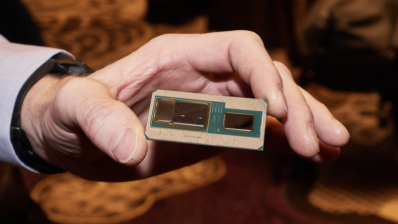 Intel's joint CPU/GPU built in collaboration with rival AMD.