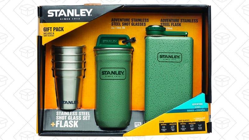 Stanley Adventure Stainless Steel Shots + 8oz Flask Gift Set | $22 | Amazon