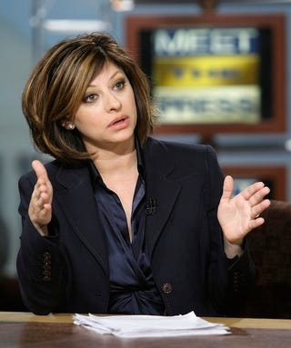 Illustration for article titled It Isn't Easy Being Maria Bartiromo