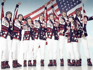 Illustration for article titled Team USA's Opening Ceremony Uniforms Are Here, And They're Ugly