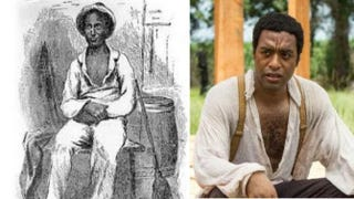 Screenshot from the book 12 Years a Slave; Chiwetel Ejiofor in the film 12 Years a SlaveJaap Buitendijk/IMDb.com