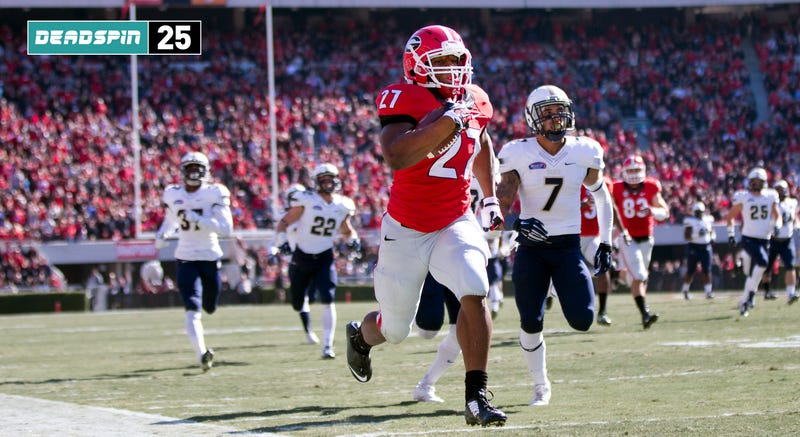 Illustration for article titled Deadspin 25: Please, God, Give Us A Full Season Of Nick Chubb