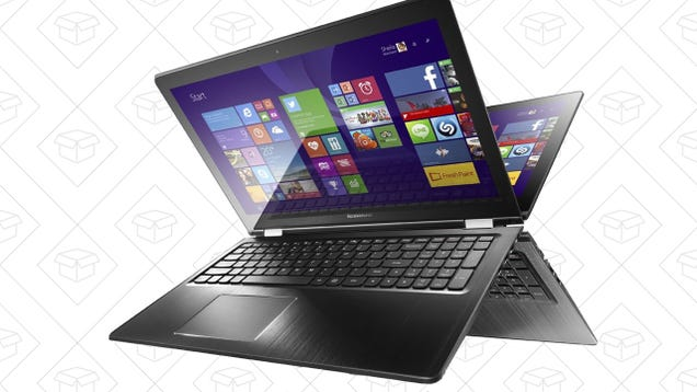 Save On a Convertible Lenovo Notebook In Today's Amazon Gold Box