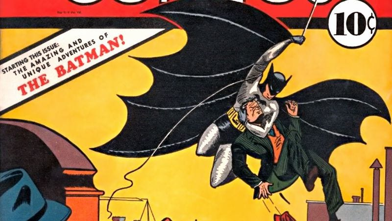 Illustration for article titled DC Entertainment to finally give credit to influential Batman writer Bill Finger