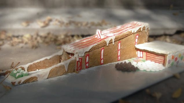 This Modernist Gingerbread House Puts All Others To Shame