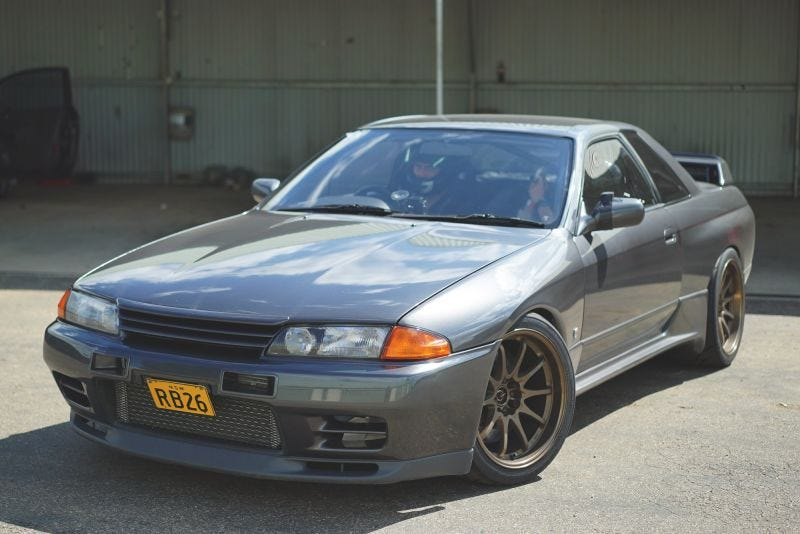 Illustration for article titled Post Skyline R32 GT-R photos