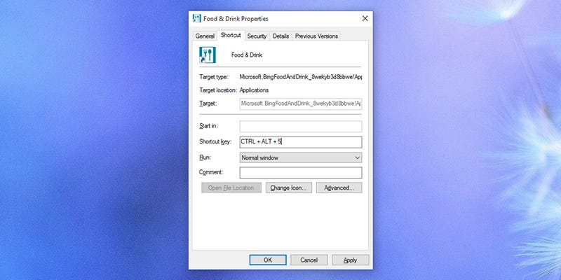 windows 10 shortcut keys