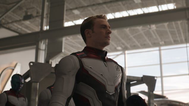 A tight production schedule meant more CGI costumes in Avengers: Endgame than we thought