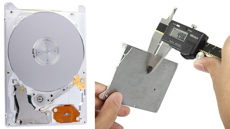 Illustration for article titled At Just 5 Millimeters Thick This Hybrid Drive Is Impossibly Thin