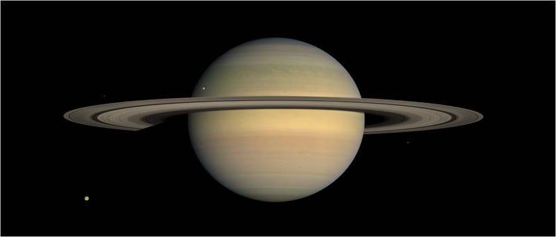 Illustration for article titled El increíble documental de Saturno con 1 millón de fotos reales