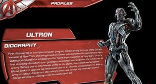 Illustration for article titled Material artístico de Los Vengadores 2 revela el nuevo origen de Ultron