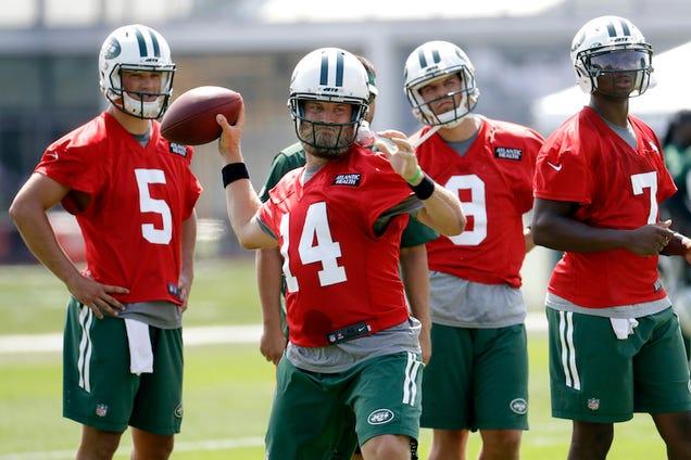 The Jets Have Too Many Quarterbacks