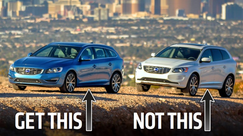 Illustration for article titled Volvo Just Proved Wagons Are Better Than Crossovers
