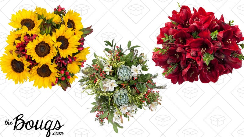 Save $15 on holiday bouquets