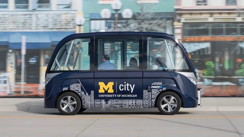 Driverless Shuttle to Service UM North Campus in Fall