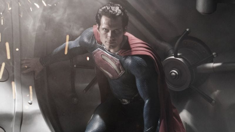 "Illustration for article titled Yes, Man Of Steel will be ""enhanced"" with 3-D and IMAX, for enhancement"