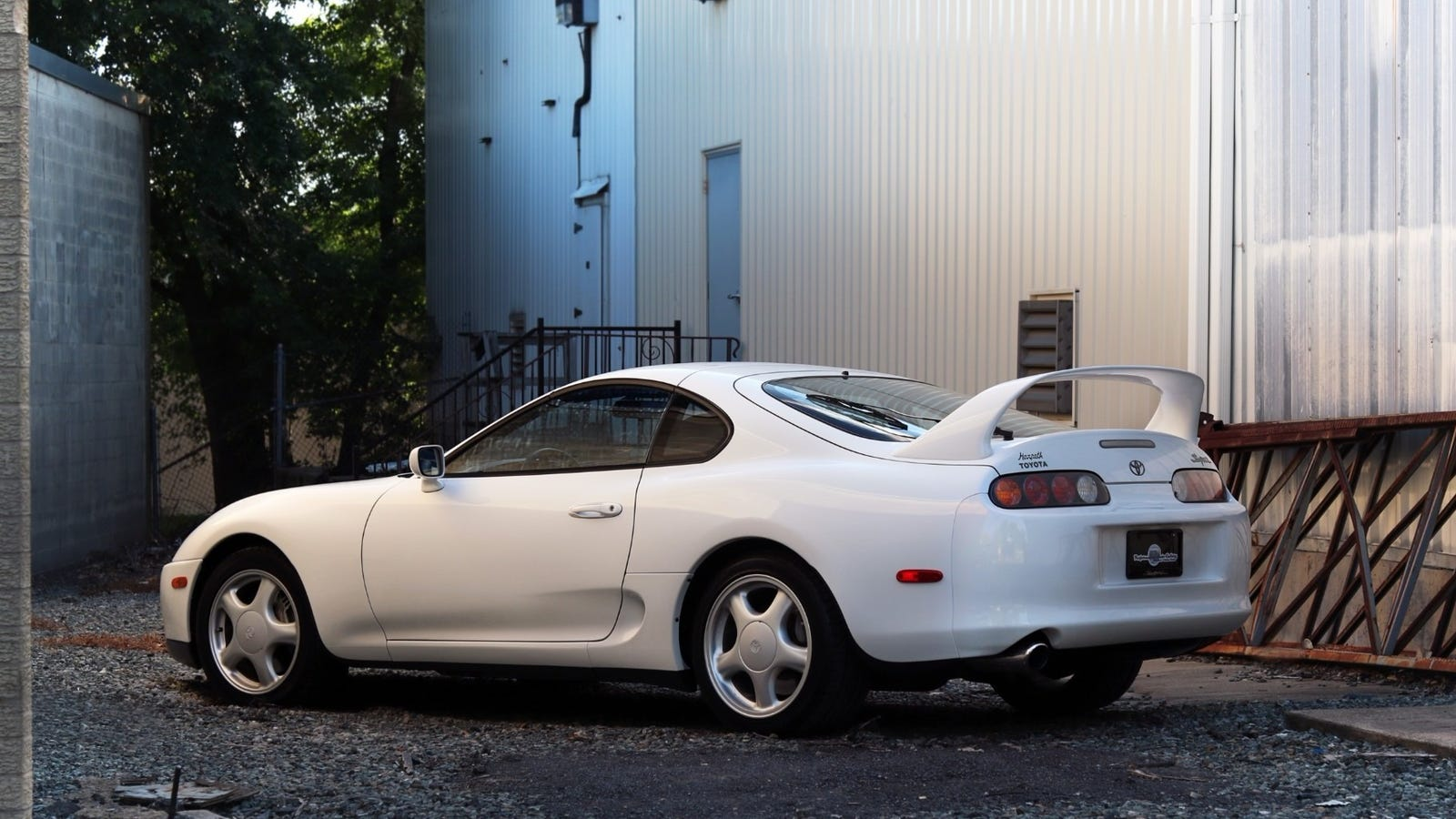 how much will this super clean 5 664 mile 1994 toyota supra sell for. Black Bedroom Furniture Sets. Home Design Ideas