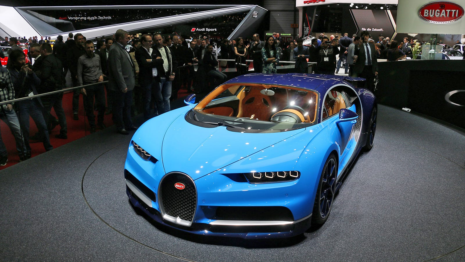 the bugatti chiron is a giant middle finger to everyone