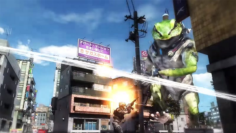Illustration for article titled The Gleefully Stupid Alien Invasion Continues In Earth Defense Force 5
