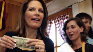 Illustration for article titled Michele Bachmann Finally Shows Up For Work After Missing 88 Consecutive Votes