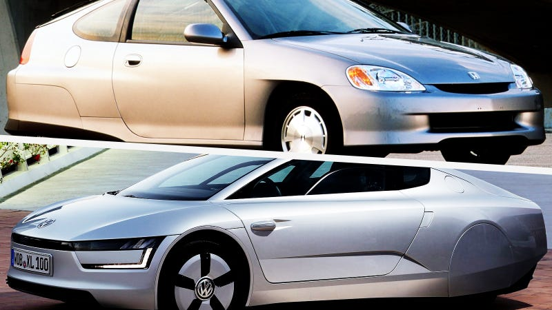 Illustration for article titled Honda Shamelessly Rips Off Volkswagen With 1999 Insight