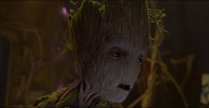 Illustration for article titled James Gunn revealed Groot's last line inInfinity War,and it is very, very sad
