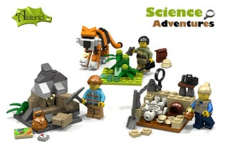 Illustration for article titled You Can Help Bring Even More Female Scientists To Lego