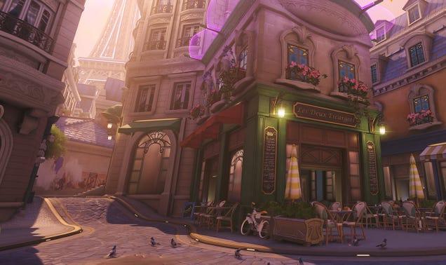 Overwatch Gets New Paris Map