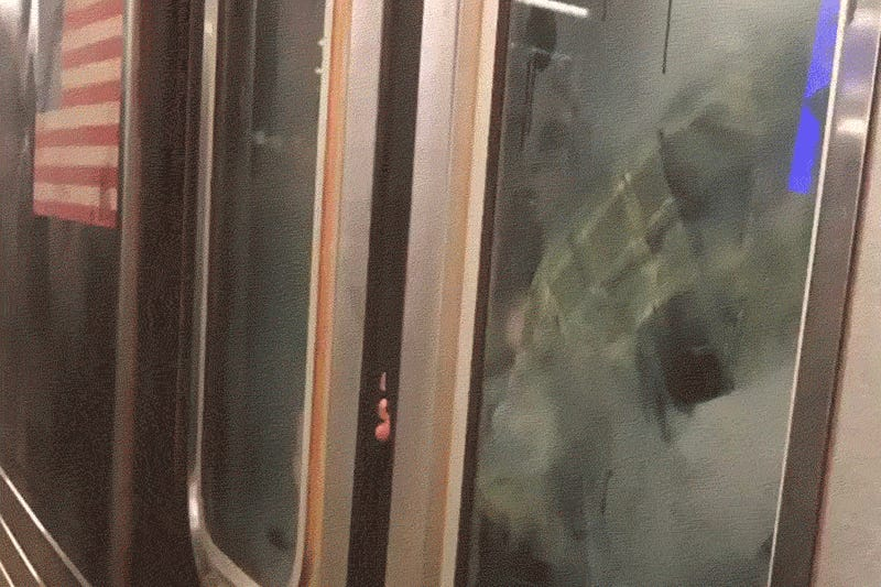 Subway riders live out every commuter's worst nightmare