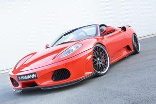 Illustration for article titled Hamann Ferrari F430 Spider