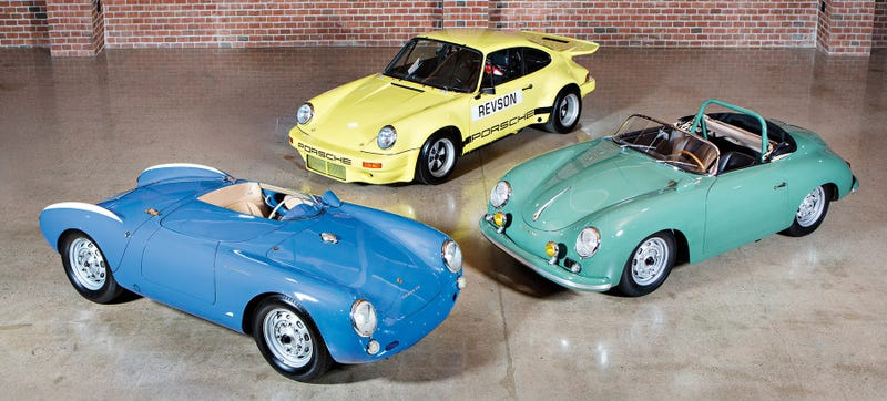 Illustration for article titled Jerry Seinfeld Is Selling Three Of His Finest Porsches
