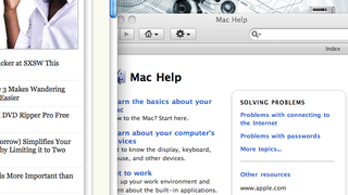 Illustration for article titled Keep OS X's Help Viewer from Floating Above Other Windows