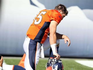 Illustration for article titled Pat Robertson: Because The Broncos Disrespected Tebow, They Deserve A Peyton Injury