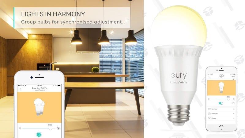 Eufy Lumos Smart Bulb   $13   Amazon