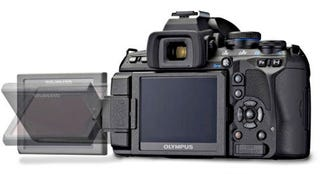 Illustration for article titled Olympus E-620 Entry-Level DSLR Has Swiveling Live View, Impressive Specs
