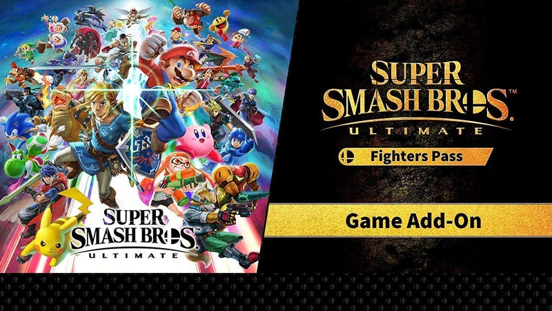 Super Smash Bros. Ultimate Fighter Pass | $20 | Amazon