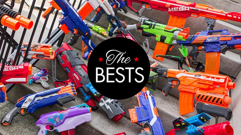 Illustration for article titled The Best Nerf Gun for Every Kid (At Heart)