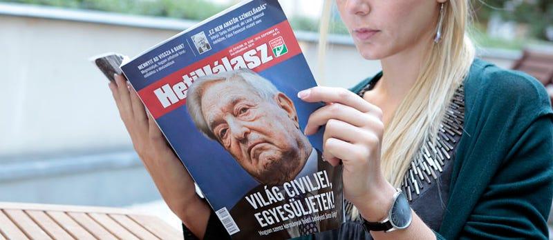 Illustration for article titled A Heti Válasz és az izraeli jobboldal Soros ellen