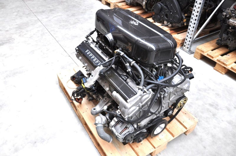 Ilration For Article Led You Can This Ferrari Enzo Engine The Price Of A