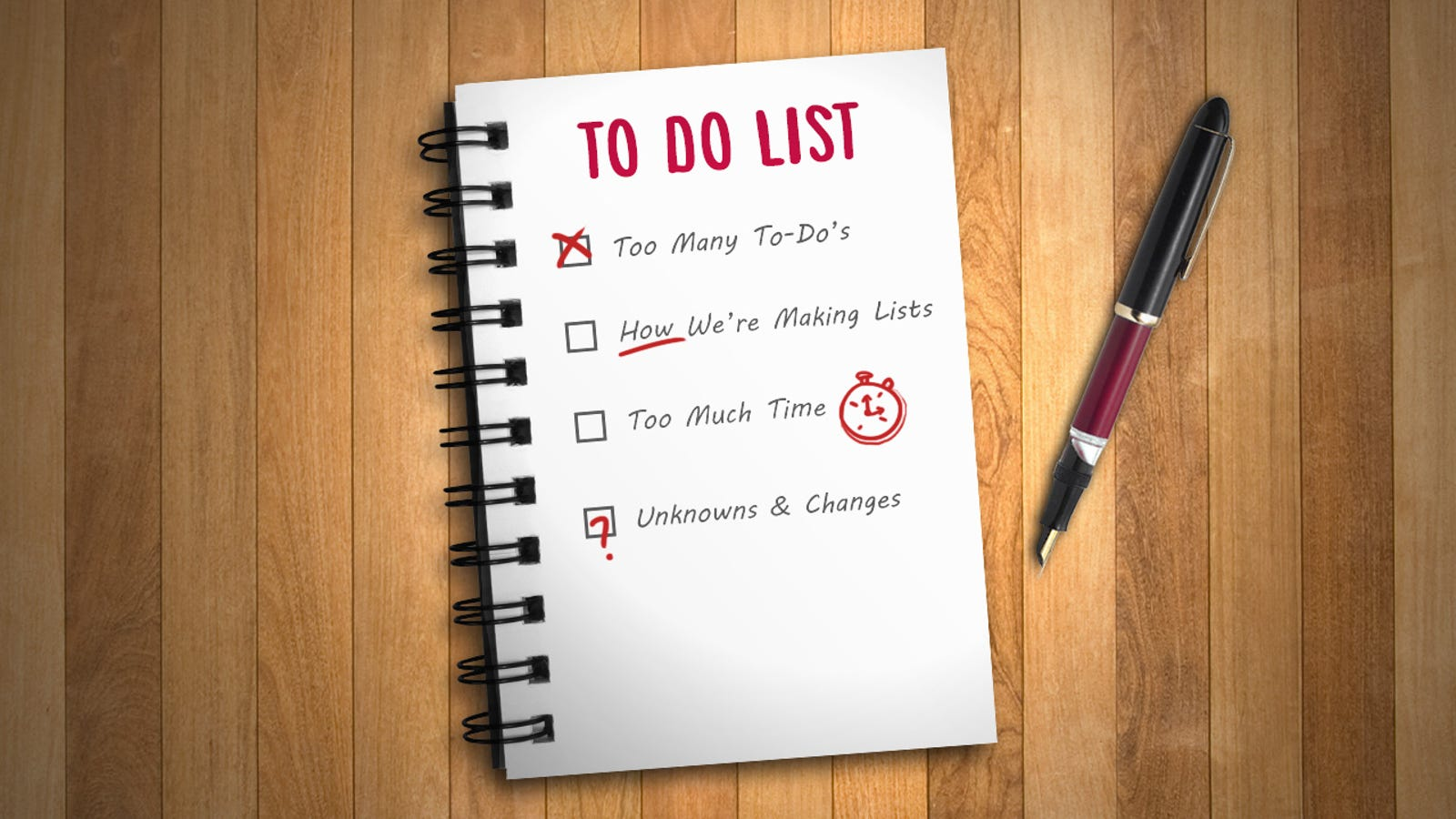 master the art of the to do list by understanding how they fail