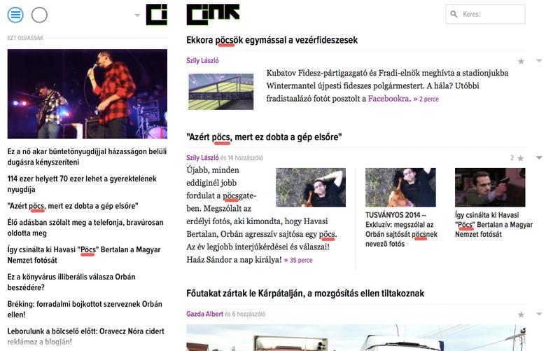 Illustration for article titled Médiatörténet: egyszerre nyolc pöcs a Cink címlapján